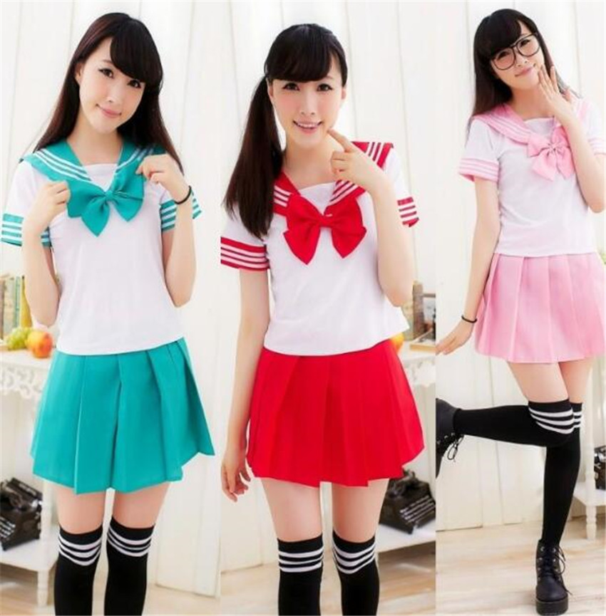 Anime Sailor Moon Cosplay Sailor uniform halloween party cosplay costume A676