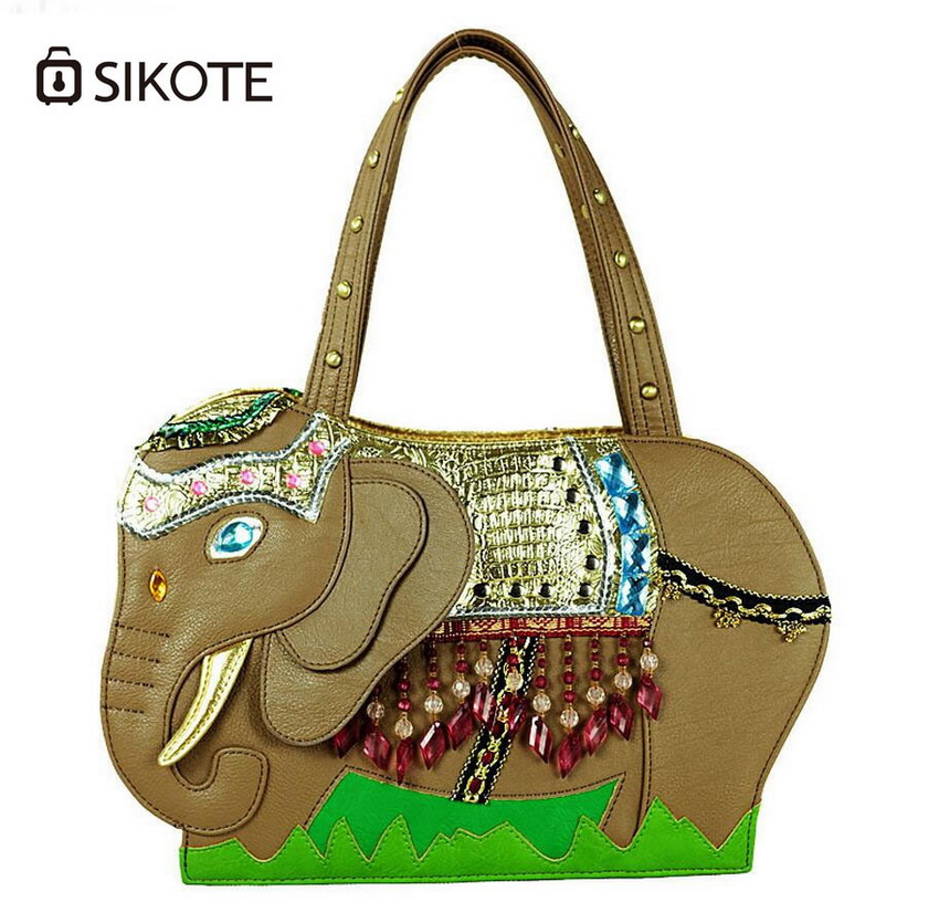 ФОТО sikoteFashion retro bag shoulder bag handbag diagonal package of individual women bag