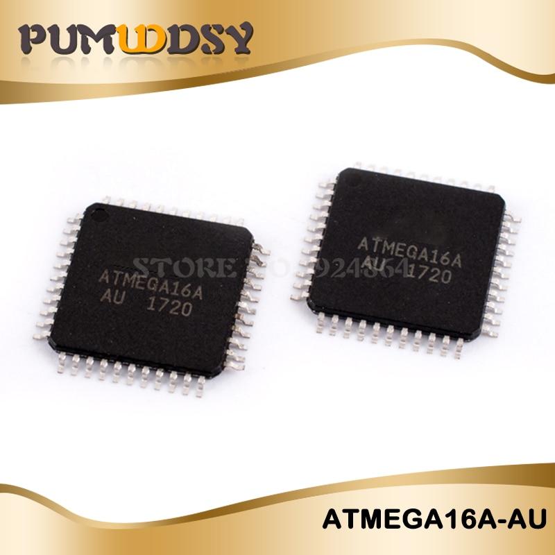 2PCS/lot Free Shipping ATMEGA16 ATMEGA16A ATMEGA16A-AU TQFP-44 IC