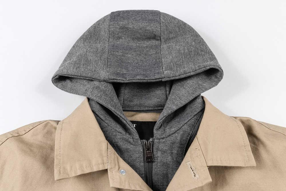 Askeri Ordu Kış Ceket Erkekler 2019 Pamuk Rahat Kapüşonlu Erkek Ceket Ceket Artı Boyutu M-3XL Bombacı Ceket Kaban chaqueta hombre