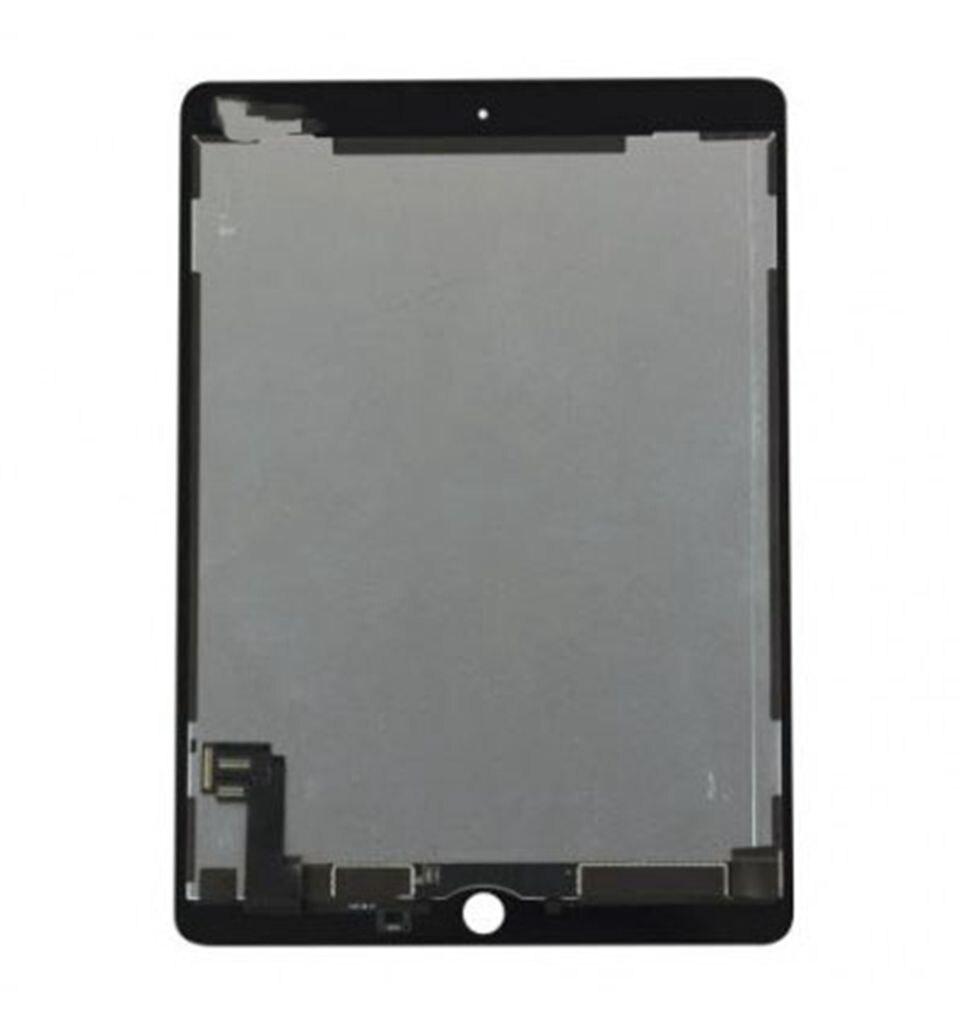Pour Apple Ipad Air 2 Air2 A1566 A1567 moniteur d'affichage à cristaux liquides seulement avec l'assemblage complet de numériseur en verre tactile