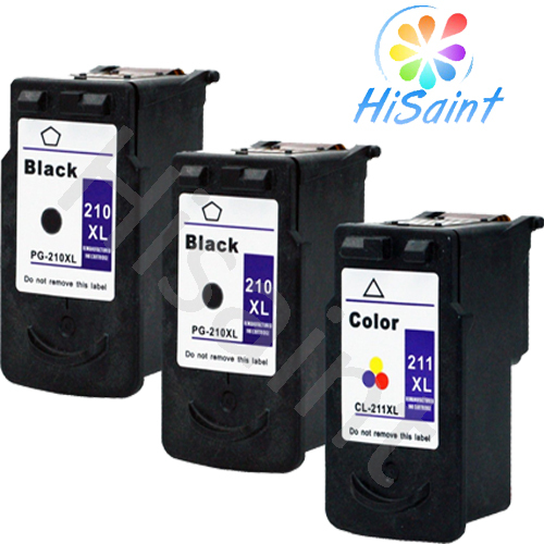 3 Pk Canon PG-210XL CL-211XL Ink Cartridge For PIXMA MX360 MX410 MX420 Printer National Hot in [Hisaint]