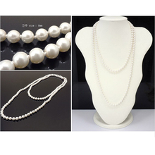 Mothers Day Gift: Beads Simulate Pearl Choker Necklace
