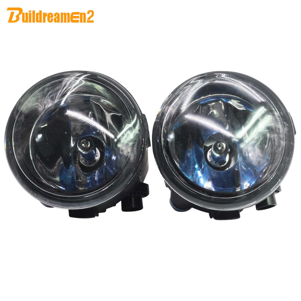 Buildreamen2 For Nissan Murano Quest Cube Tiida Rogue Presage Lafesta 2 Pieces 100W H11 Car Styling Halogen Fog Light 4300K 12V