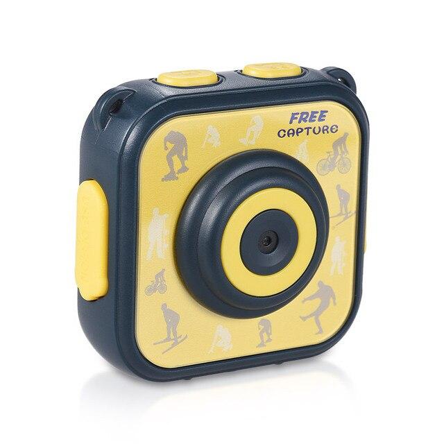 Детские спортивные действие Камера Водонепроницаемый 720 P Цифровая видеокамера 1,77 дюйма ЖК-дисплей Экран для мальчиков и девочек на Рождество и день рождения