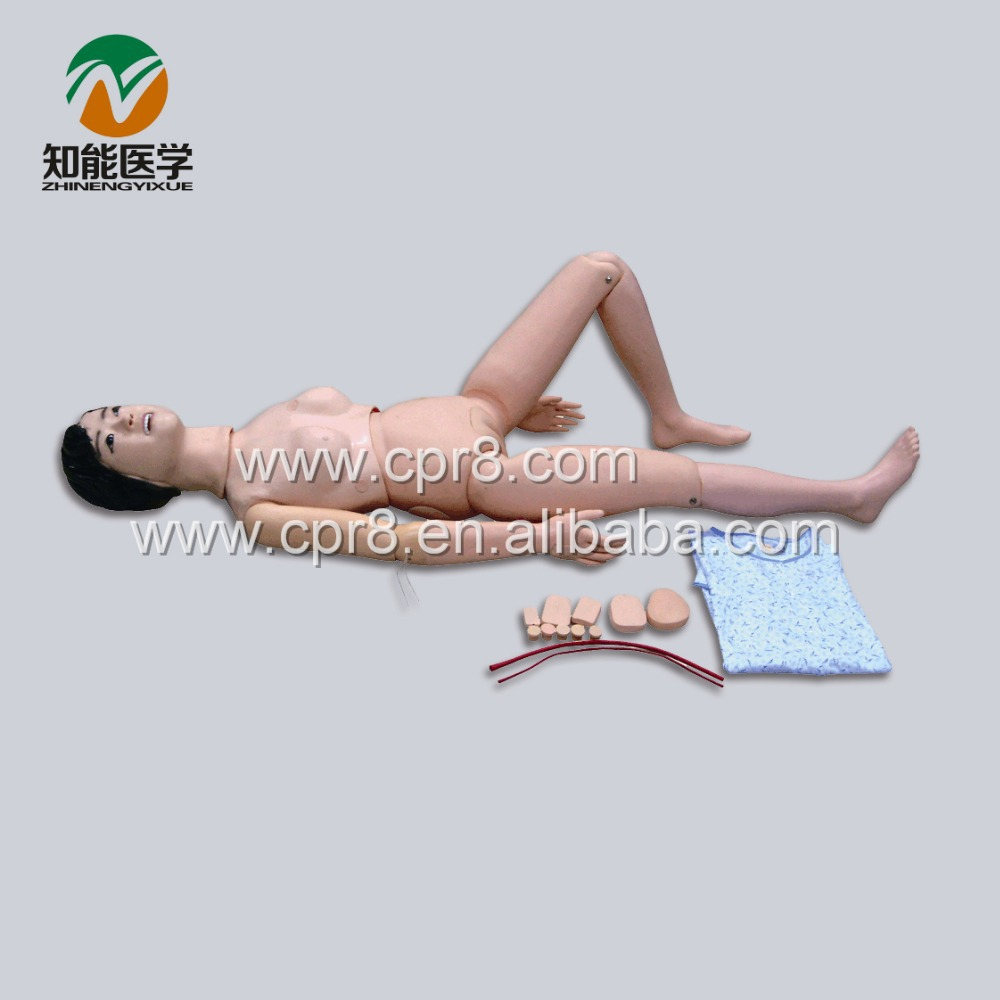 BIX-H1 New Type Of Multifunctional Nursing Manikin For Internship (female) WBW005 economic basic patient care manikin female nursing manikin nursing mannequin