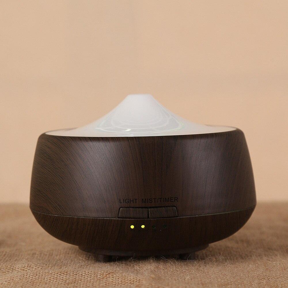 100% QualitäT Diffusor Holz Ultraschall Parfüm Eingestellt Ätherisches Öl Purifier Zerstäuber Led Farbe Ändern Nacht Licht Für Office Home