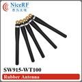 4 шт./лот SW915-WT100 868 МГц Локоть Резиновая Антенна для бесплатная доставка