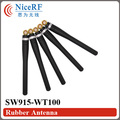 4pcs/lot SW915-WT100 868MHz Elbow Rubber Antenna for free shipping