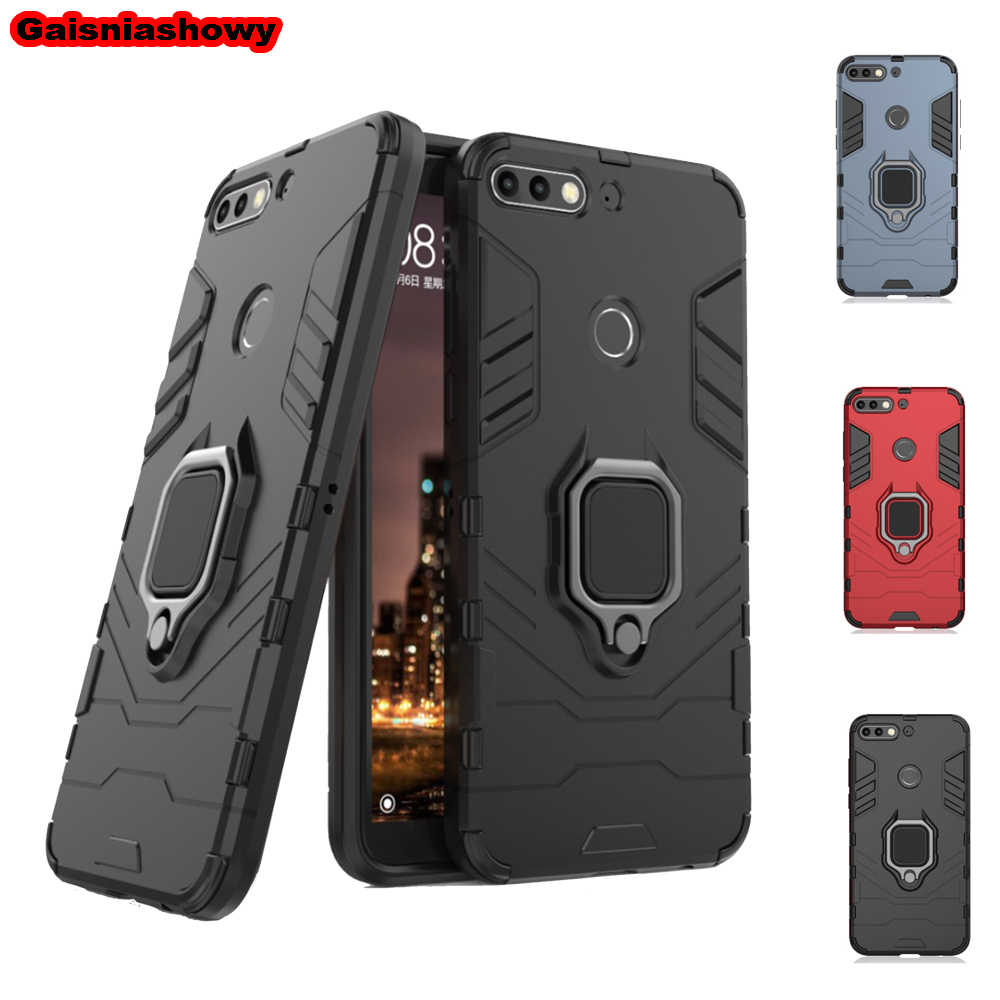 Case For Huawei Y6 Y7 Prime Y9 2018 2019 Kickstand Cover For Huawei P Smart ZPlus 2019 Nova 5 5i 3 3e 3i 4 4e Phone Case