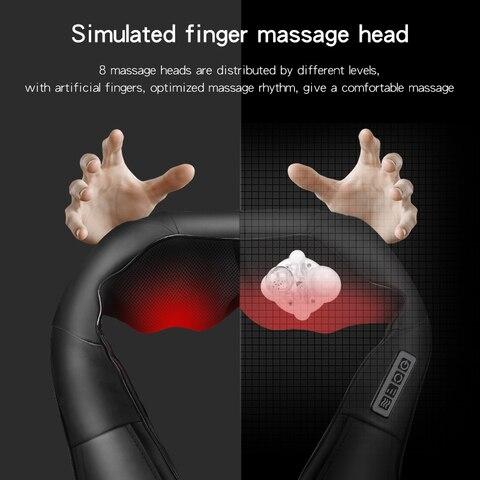 travesseiro dor relaxamento eletrica ombro perna corpo