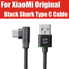 SK02AQ XiaoMi black shark Helo phone special gaming usb c cable Nylon Weave 3A quick charge type c cable