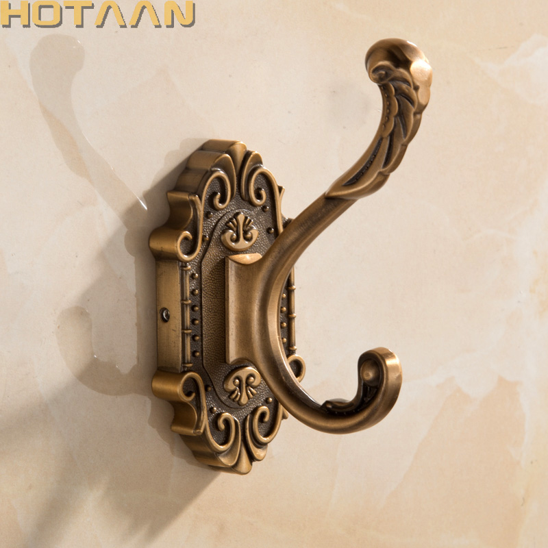 Free Shipping New Antique Bronze Color  Wall Hooks& Racks,Clothes Hanger & Metal & Towel & Coat&Robe Hook.Bathroom Accessories