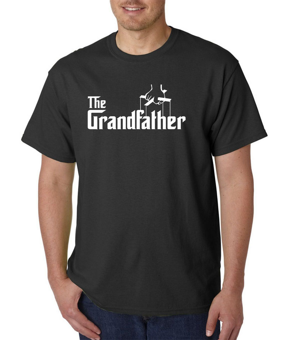 The Grandfather T-Shirt Fathers Day O-Neck T Shirt Homme Round Neck Best Selling Male Natural Cotton Shirt TOP TEE