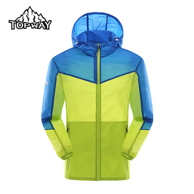 High Quality Men Water Resistant Summer Sun Protection Quick Dry Skin Jacket Lightweight Coat Anti-UV Manteau Spring Veste Homme