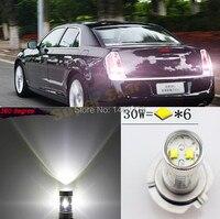 Пара 3156 P27W T25 высокое Мощность для кри фишек светодиодный проектор реветь Хвост Резервное копирование Обратный Задние огни для Chrysler 300 c sebring