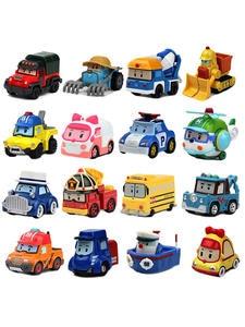 Buy 3 get 5% Robocar Poli Action Figures kids Toys Robot Poli Roy Haley Anime Metal Action