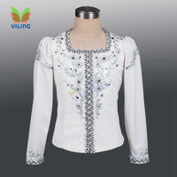 ballet men costumes Prince's clothing performance tunic men ballet jacket outfitmale ballet dance top