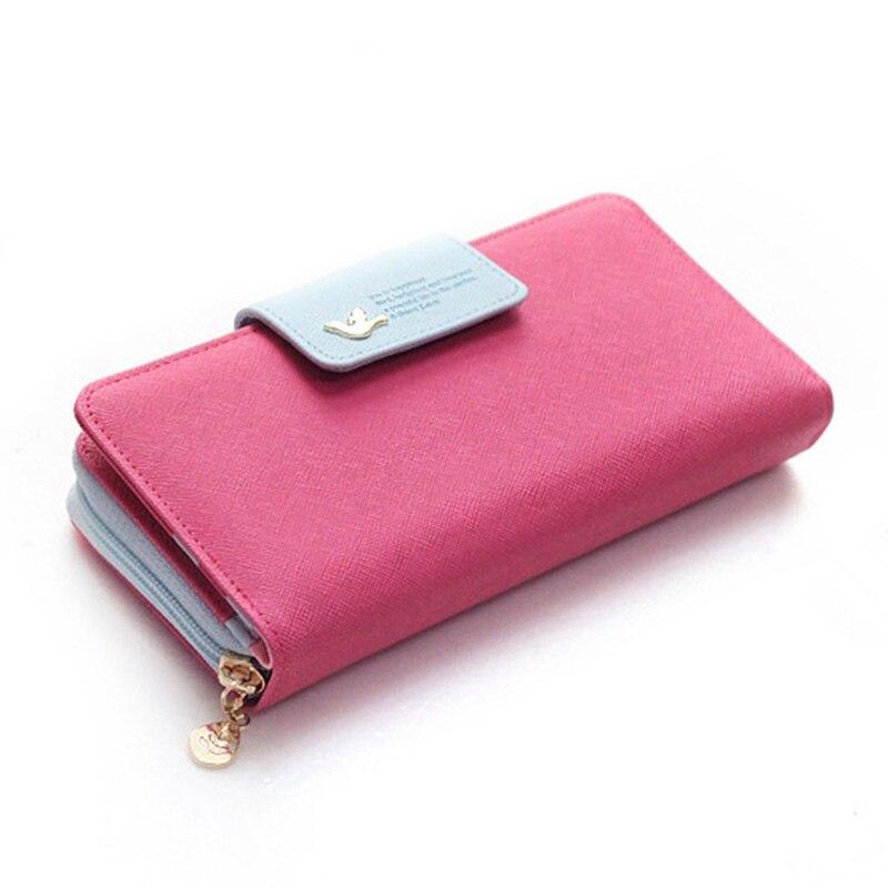 senhoras carteira hasp zipper bolsa Material Principal : Plutônio