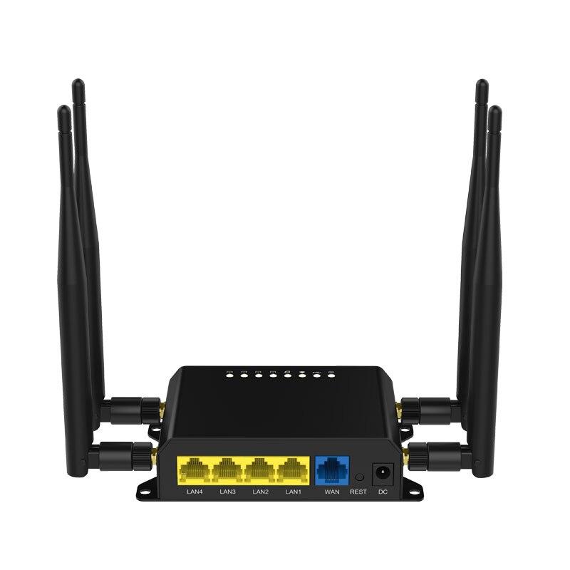 Cioswi WE826-T 3G 4G Lte routeur WIFI répéteur 2.4 Ghz 128 mo Point d'accès extérieur routeur Modem 4g Wifi carte Sim - 5