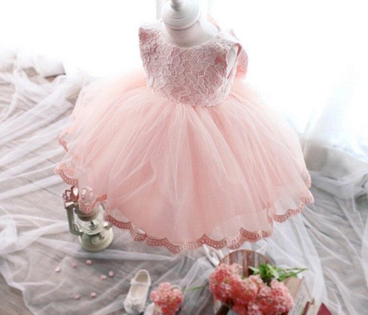 3ffb85134c0b7 New Baby Girl Princess Wedding Party Flowers Dress