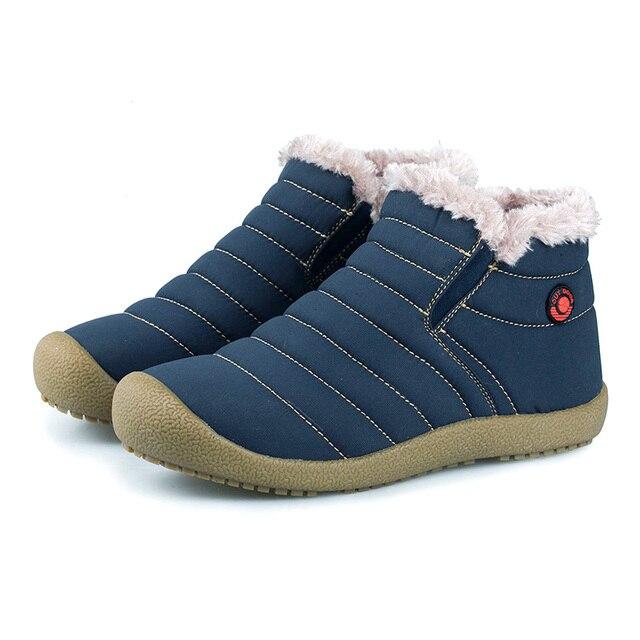 Эксклюзивные мужские ботинки добавить шерсть согреться зимние сапоги скольжения хлопчатобумажной ткани мужская обувь классическая мода снег ботильоны клей