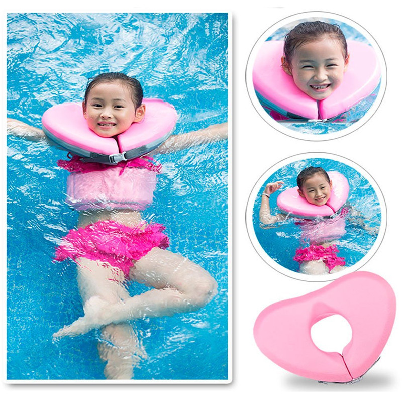 Summer 2018 Neck Swimming Float For Children Water Bath Training Exercises Fun Swimming Pool Toy Fits Adults And Teenagers