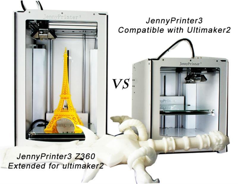 Terbaru! Dipasang JennyPrinter3 Z360 Extended untuk UM2 Ultimaker 2 - Elektronik pejabat - Foto 2