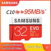 SAMSUNG microsd card TF EVO Plus Class10 U1 32GB U3 64GB 128GB 256GB memory Card MicroSD Smartphone Tablet Camera 100% Original