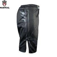 Martial: MMA black/grey shorts men running sports shorts thai kick boxing shorts mens mma shorts