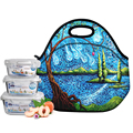Thermal Insulated Neoprene Lunch Bag Women Kids Lunchbags Tote Cooler Lunch Box Insulation pinic Bag