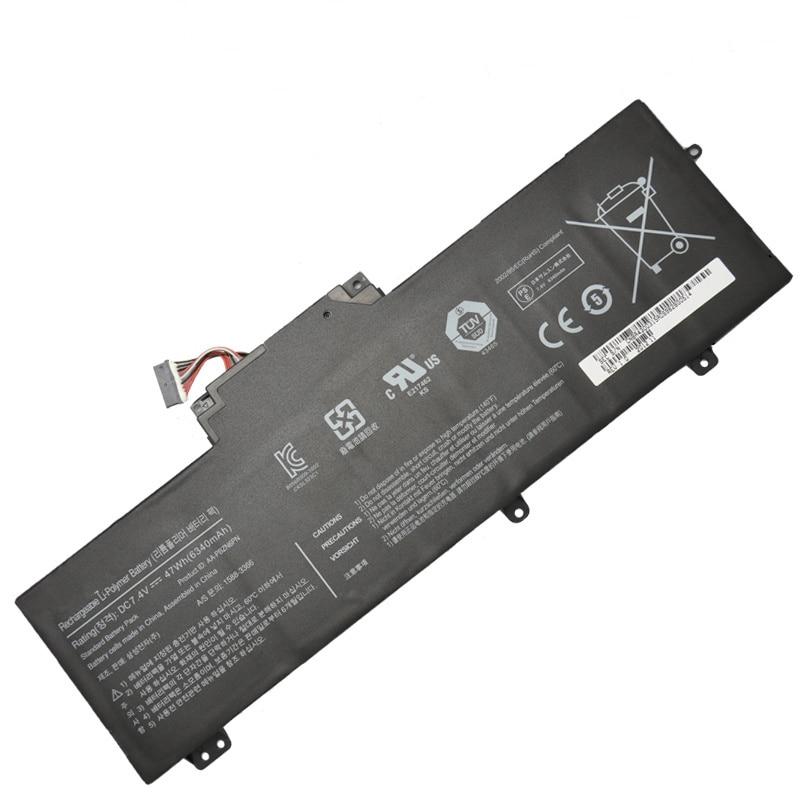 ФОТО Original 7.4V 47Wh Li-polymer laptop battery AA-PBZN6PN for Samsung NP350U2A NP350U2B NP350U2Y BA43-00315A batteries batteria