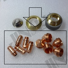 Electrodo 200 + 1,2, 1,6, 1,8, 200 de propina YGX 100 YK 100 100A YGX 100103 YK 100102 Huayuan LGK 100 LGK 120 soplete de plasma cnc