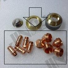 Elektrode 200 + 1.2 1.6 1.8 Tip 200 YGX 100 YK 100 100A Ygx 100103 Yk 100102 Huayuan LGK 100 LGK 120 Cnc Plasma torch