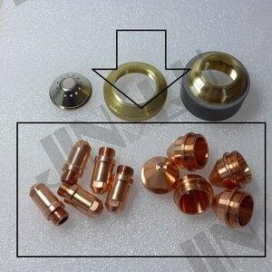 Image 5 - Eletrodo 50 + 1.2 1.6 1.8 Ponta 50 YGX 100 YK 100 100A YGX 100103 YK 100102 Huayuan LGK 100 LGK 120 consumíveis Da Tocha De Plasma CNC