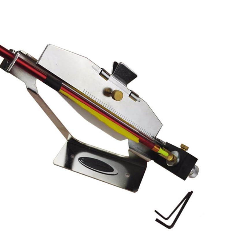 DIY Archery Bow Arrows Feather Stick Tool Adjustable Fletching Jig Stick Feather Bonding Make Arrow Feather