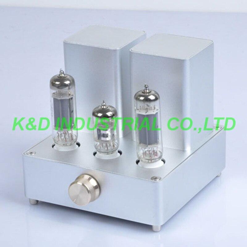 1 unid Mini Astilla de Audio AMPLIFICADOR de Válvulas Amplificador APPJ EL84 12A
