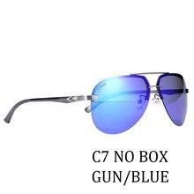 Lvvkee Для женщин поляризованных солнцезащитных очков Для мужчин 2018  Алюминий магния кадра солнцезащитные очки без оправы пилот. b28cc33e55481