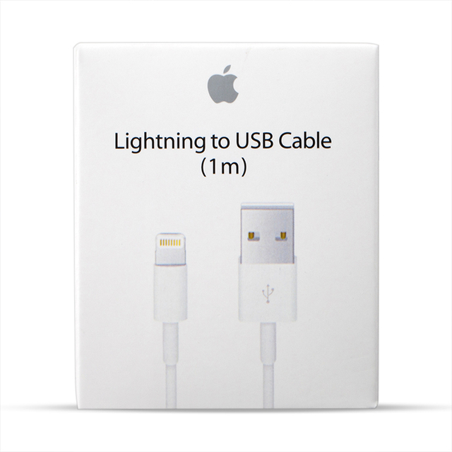 Original USB Cable For iPhone 5 5S 6 6S 7 8 Plus X Fast Charging USB Charging Data Sync Cable For iPad Air Charger Cord With Box