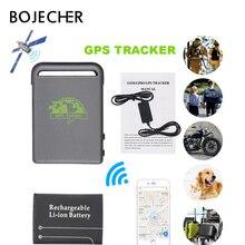 цена на Auto car mini GPS tracker with car charger Vehicle GSM TK102B Car Realtime Online GSM GPRS Tracking Device Locator GPS Tracker