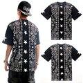 Camisas envío gratis T moda para hombre camisetas hip hop tops camiseta tee de impresión manga corta camisetas casual camisetas camisas hombre ropa