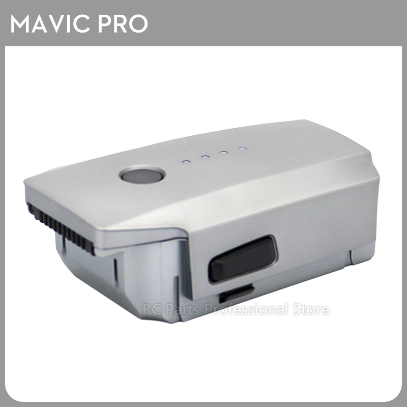 In Stock !!! Original DJI Mavic Pro Intelligent Flight Platinum Battery Max 27-min Flight Time 3830mAh 11.4V Designed New travel aluminum blue dji mavic pro storage bag case box suitcase for drone battery remote controller accessories