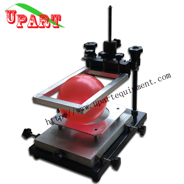 hand balloon screen printing machine silk screen printing