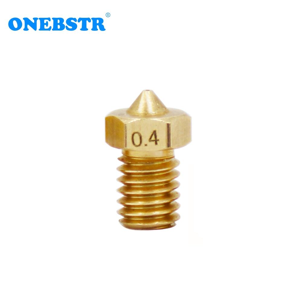 E 3d V6 Hotend Extruder J Head Copper Nozzle For 1.75mm 3.0mm Supplie ABS PLA Filament 3d Printer Parts Hot Sales