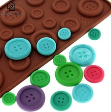 CABINA HOME Button Shape Silicone Mold Jelly Soap Chocolate Mould DIY Baking Cake Decorating Tools Kitchen Accessories Bakeware