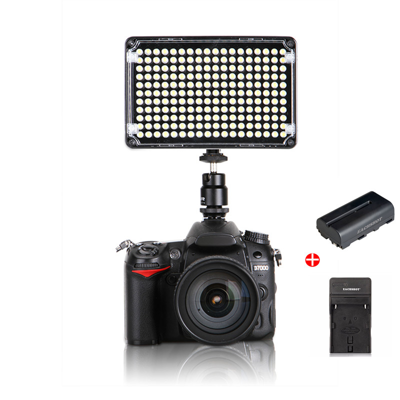 купить Aputure AL-H198 Amaran On-camera LED Video Light CRI 95+ for Camcorder Light Photographic Lighting With Battery and Charger по цене 6119.1 рублей