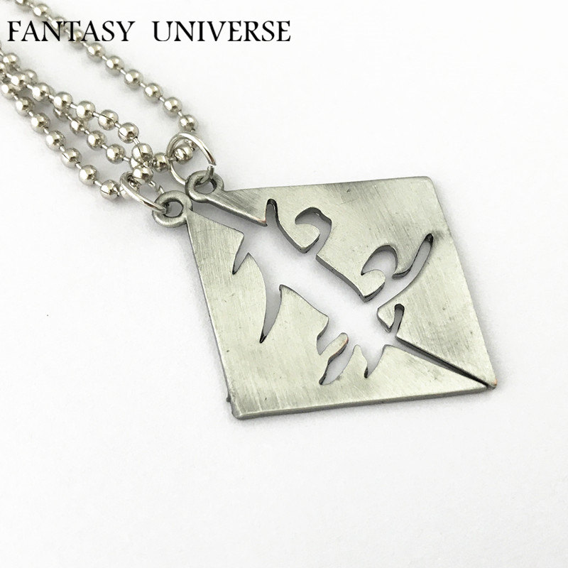 FANTASY UNIVERSE The Mortal Instruments Freeshipping 1pcs Parabatai couples necklace F07