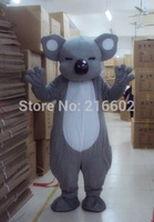 2017 High quality New Adult Sized koala bear animal Mascot Costume