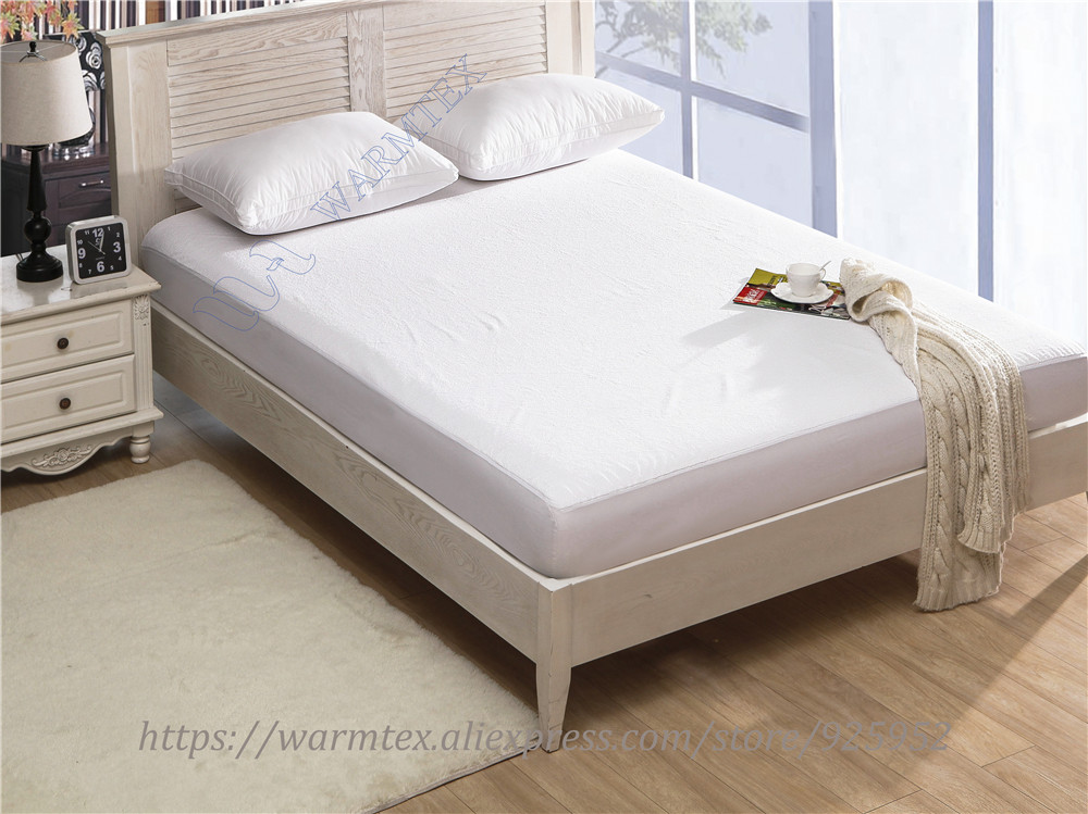 King Size 180x200cm Soft Coral Fleece Waterproof Mattress ...