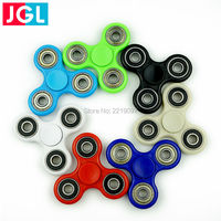 Handspinner 17PCS Lot Anxiety Stress Relief Anti Stress Finger Gyro Spinner Tri Fidget Hobbies Fun Reliever
